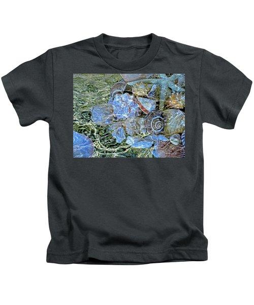 Shells Underwater 20 Kids T-Shirt