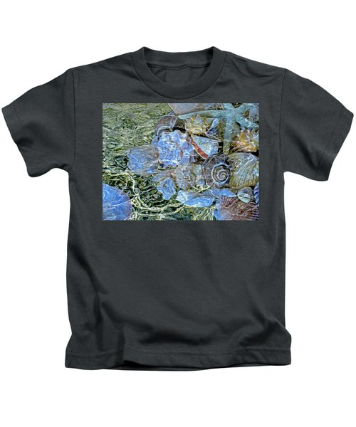 Shells Underwater 20 Kids T-Shirt