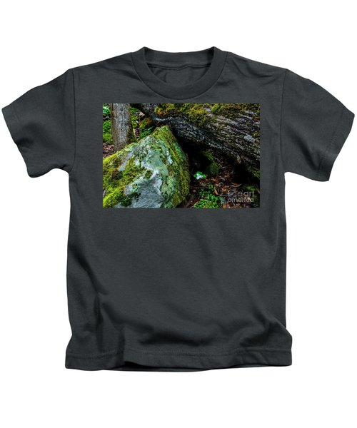 Sheltered By The Rock Kids T-Shirt