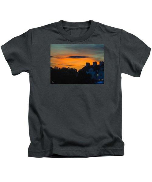 Sherbet Sky Sunset Kids T-Shirt