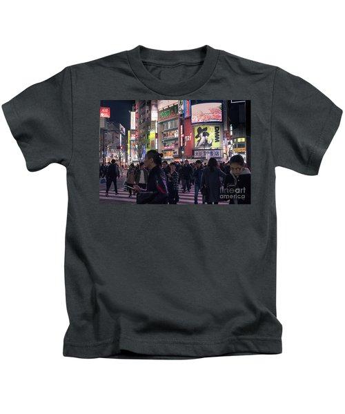 Shibuya Crossing, Tokyo Japan 3 Kids T-Shirt