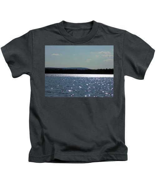 Shimmering Cross Lake Kids T-Shirt