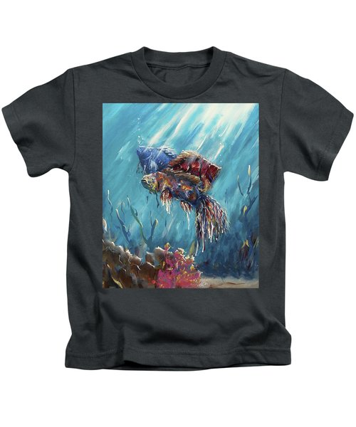 Shine Trough The Ocean Kids T-Shirt