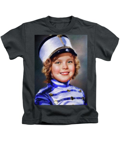 Shirley Temple, Vintage Actress Kids T-Shirt