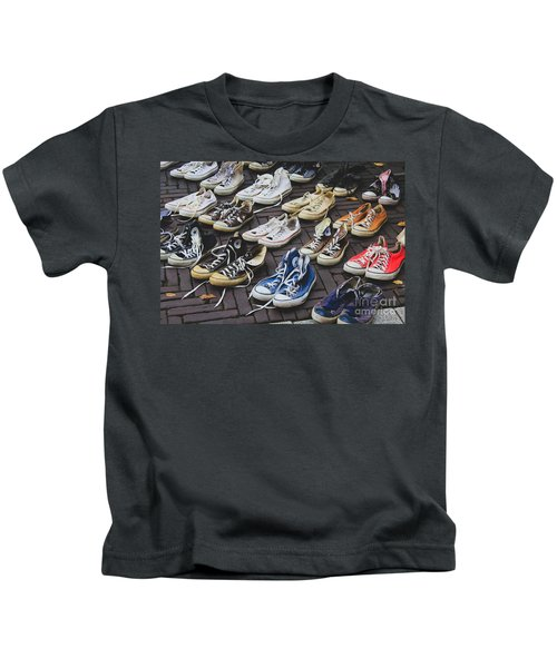 Shoes At A Flea Market Kids T-Shirt