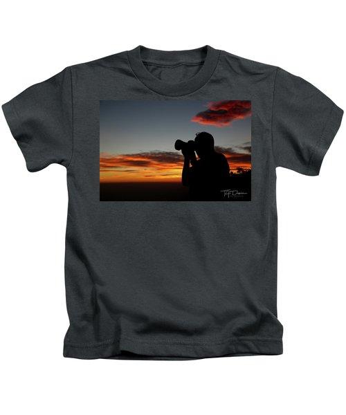 Shoot The Burning Sky Kids T-Shirt