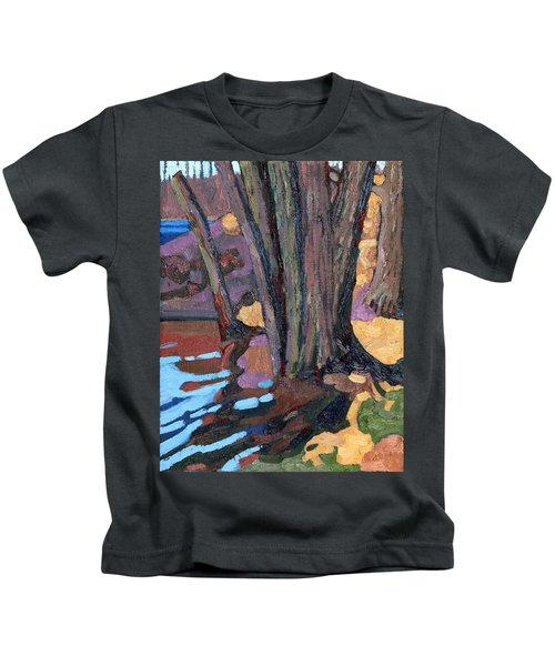 Shoreline Maples Kids T-Shirt