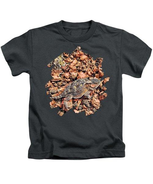 Short-horned Lizard Kids T-Shirt