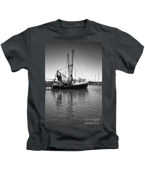 Shrimp Boat Kids T-Shirt