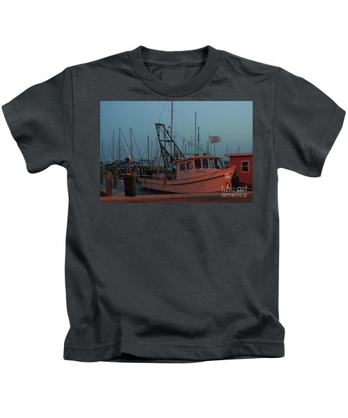 Shrimp Boat Kids T-Shirt