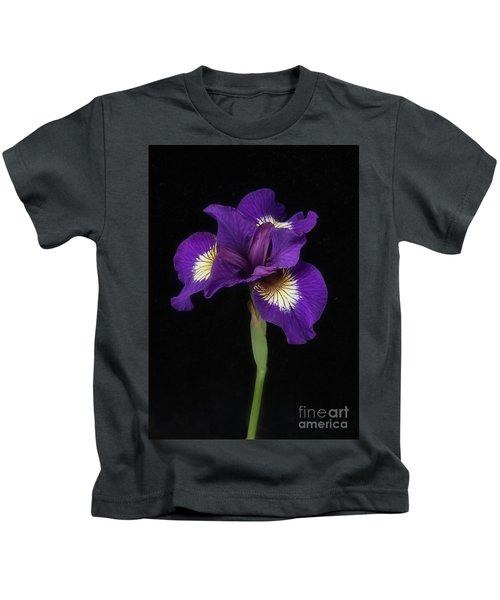 Siberian Iris Kids T-Shirt