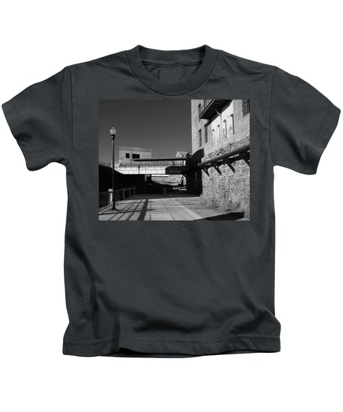 Silence On The Banks Of The Chattahoochee Kids T-Shirt