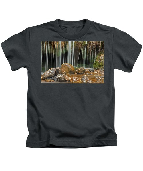 Silky Falls Kids T-Shirt