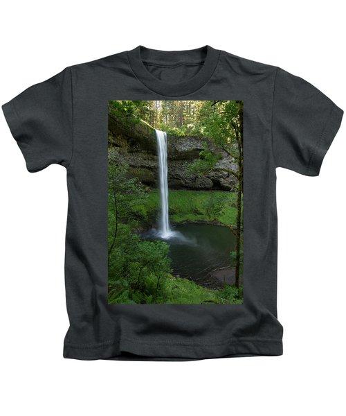 Silver Falls Silver Mist Kids T-Shirt