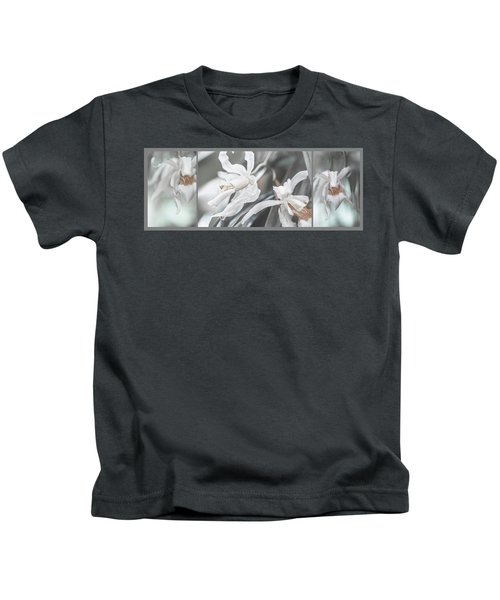 Silver Melody. Triptych Kids T-Shirt