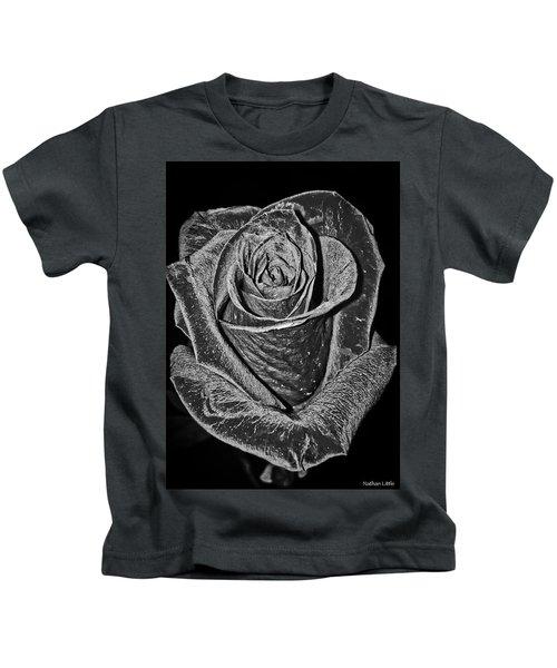 Silver Rose Kids T-Shirt