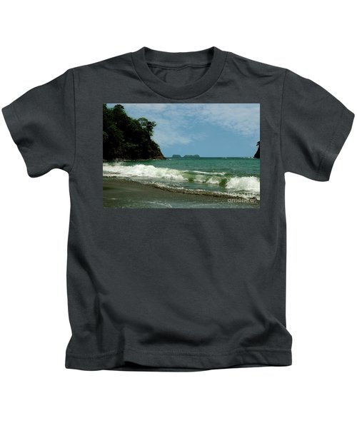 Simple Costa Rica Beach Kids T-Shirt