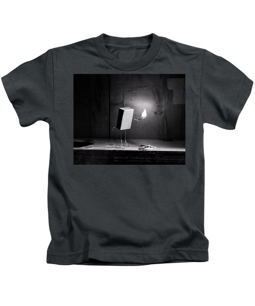 Simple Things - Light In The Dark Kids T-Shirt