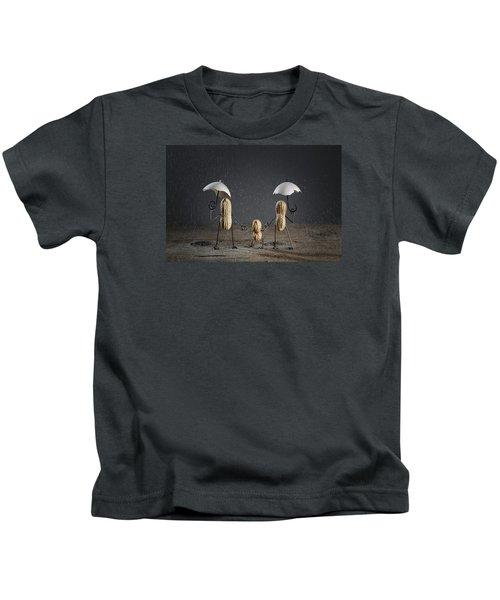 Simple Things - Taking A Walk Kids T-Shirt