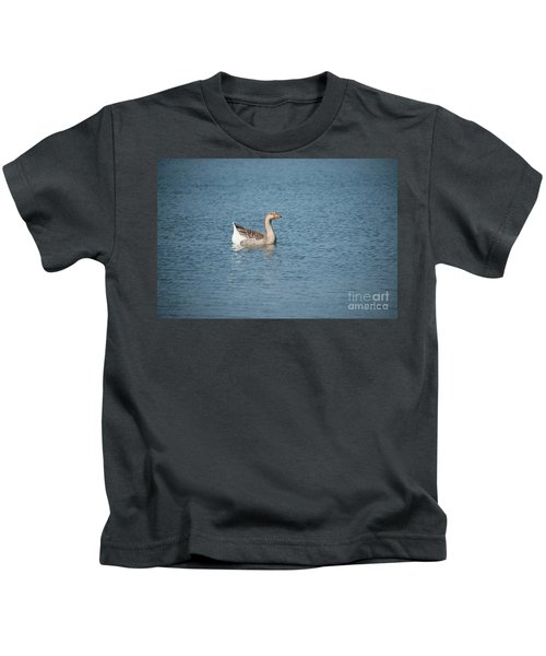 Single Swimmer Kids T-Shirt