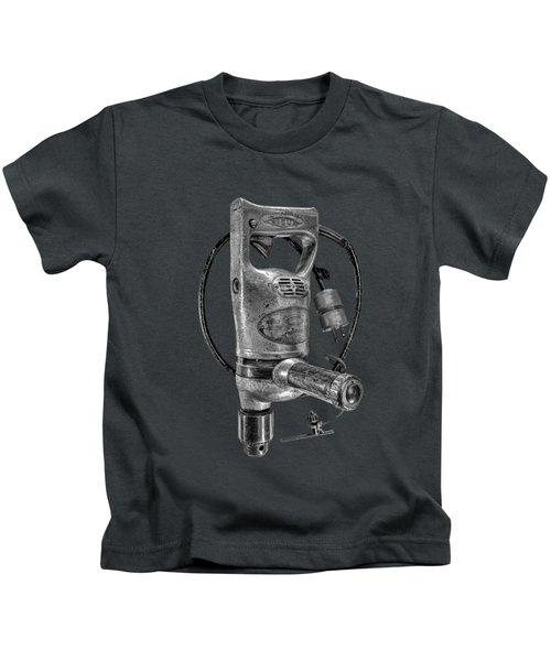 Sioux Drill Motor 1/2 Inch Bw Kids T-Shirt