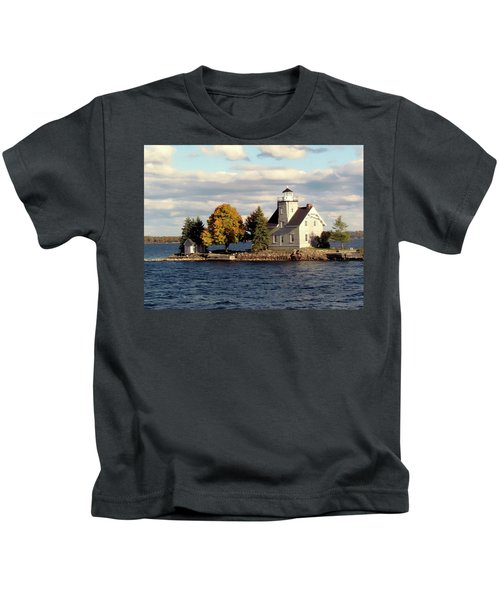 Sister Island Lighthouse Kids T-Shirt