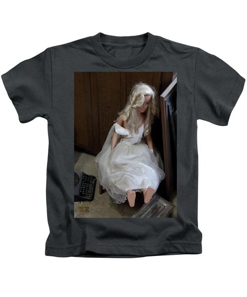 Sitting Doll Kids T-Shirt