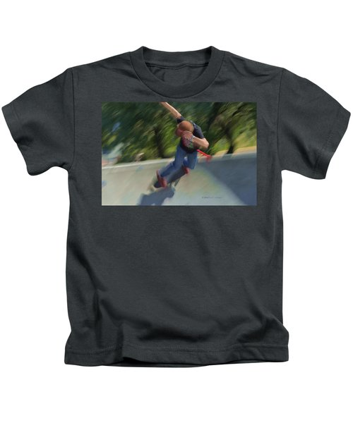 Skateboard Action Kids T-Shirt