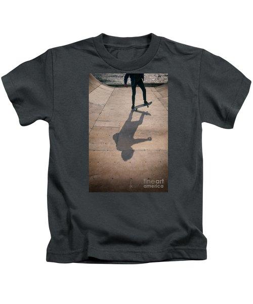 Skater Boy 002 Kids T-Shirt