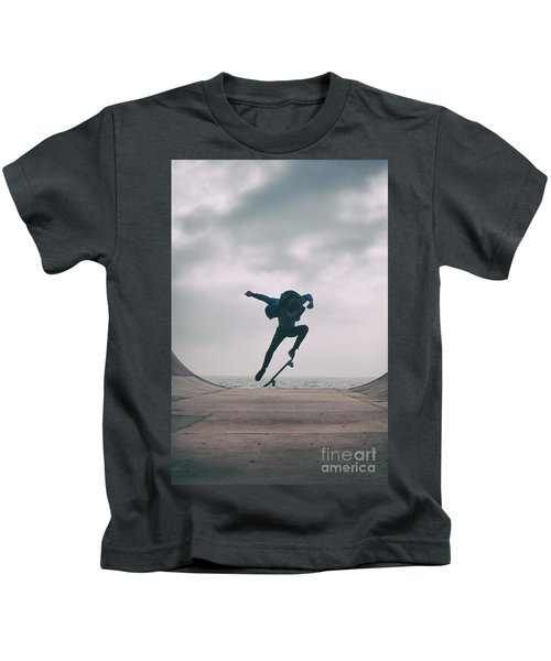Skater Boy 004 Kids T-Shirt