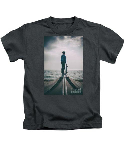 Skater Boy 005 Kids T-Shirt