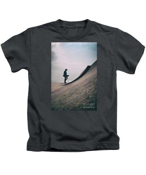 Skater Boy 006 Kids T-Shirt
