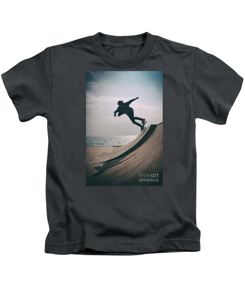 Skater Boy 007 Kids T-Shirt