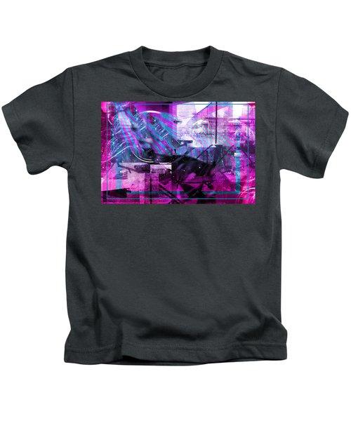 Sketching Flying Stars.. Kids T-Shirt