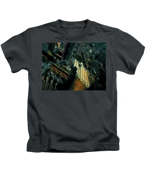 Skewed View Kids T-Shirt