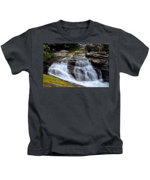 Skinny Dip Falls Kids T-Shirt