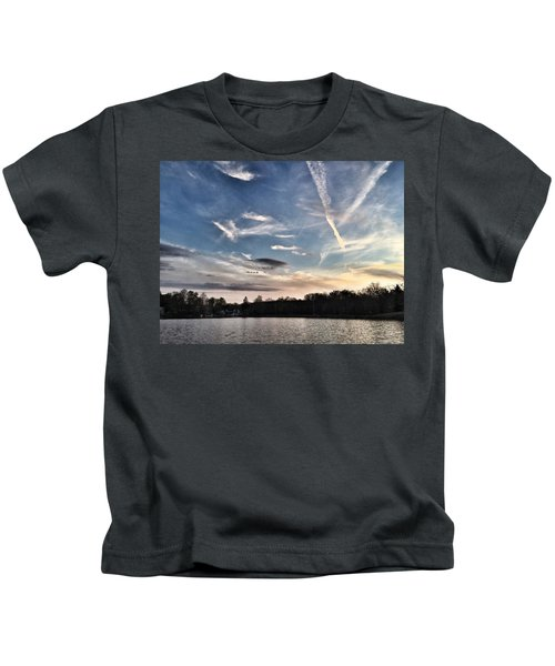 Sky Drama Kids T-Shirt