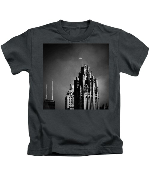 Skyscrapers Then And Now Kids T-Shirt