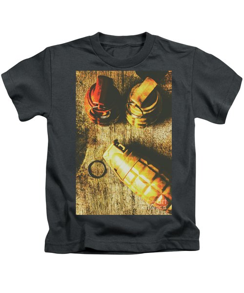 Sleeper Cell Marines Activated Kids T-Shirt