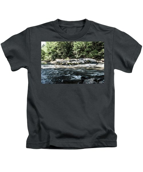 Slippery Rock Gorge - 1943 Kids T-Shirt