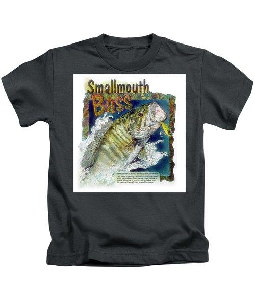Smallmouth Bass Kids T-Shirt