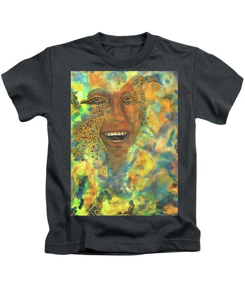 Smiling Muse No. 3 Kids T-Shirt