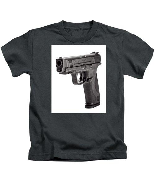 Smith And Wesson Handgun Kids T-Shirt