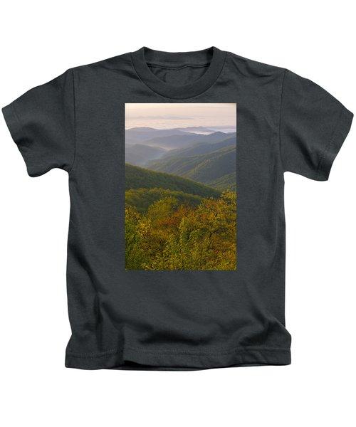 Smokey Mountains Kids T-Shirt