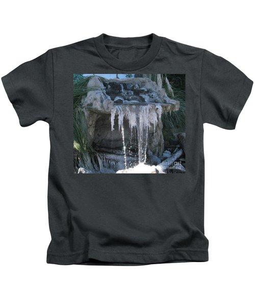 Smokey Stoves Frozen Falls Kids T-Shirt