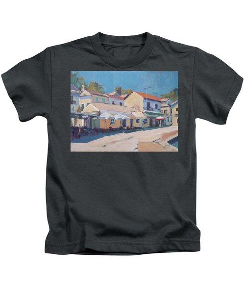 Snackbar Europe Loggos Kids T-Shirt by Nop Briex