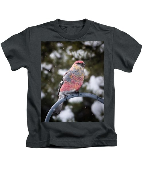 Snow Bird Kids T-Shirt