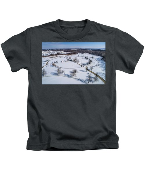 Snow Diamonds Kids T-Shirt