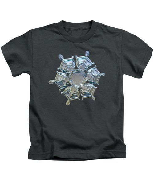 Snowflake Photo - Ice Relief Kids T-Shirt