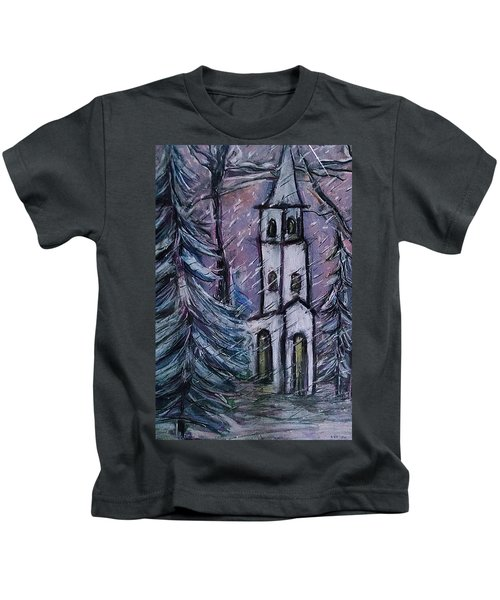 Snowscape Kids T-Shirt